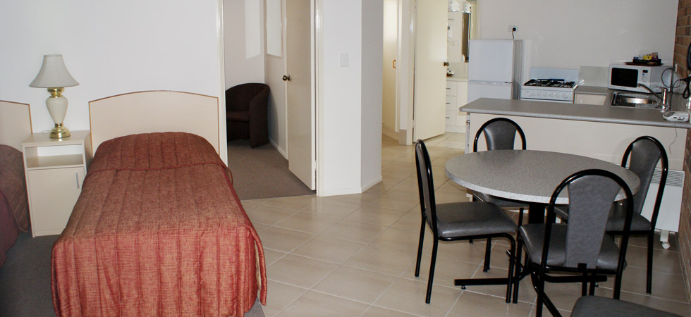 Our rooms are spacious and comfortable for long or short stays